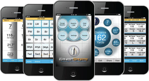 Ernest Sports ES14 Pro Golf Launch Monitor App