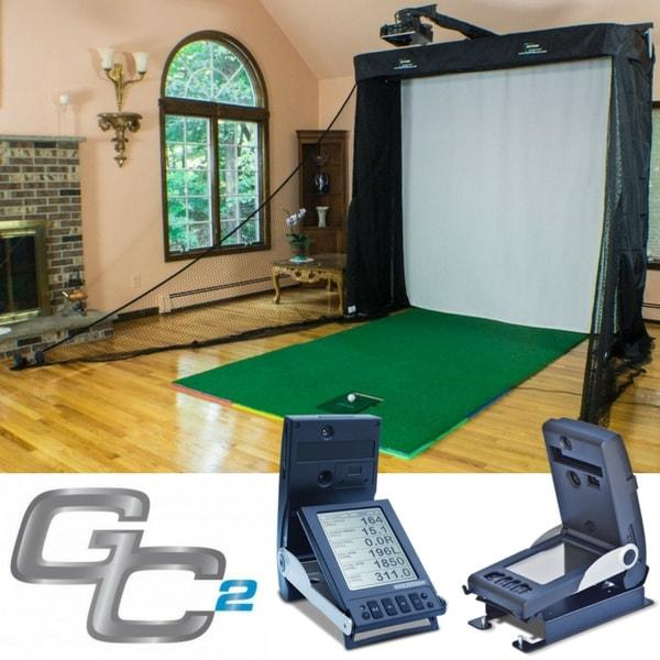 Professional Golf Simulator GC2 Launch Monitor Studio