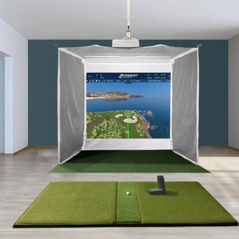 GC2 Retractable Golf Simulator Package