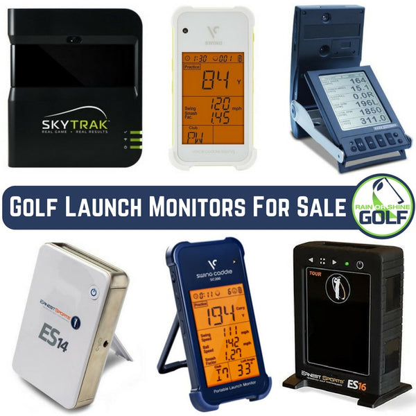 Golf Launch Monitors - Portable Swing Monitors for Sale