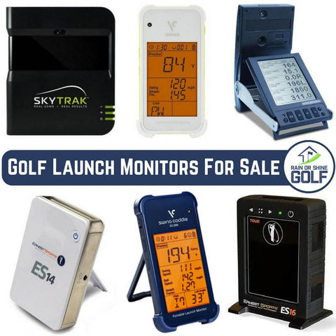 Golf Launch Monitors For Sale