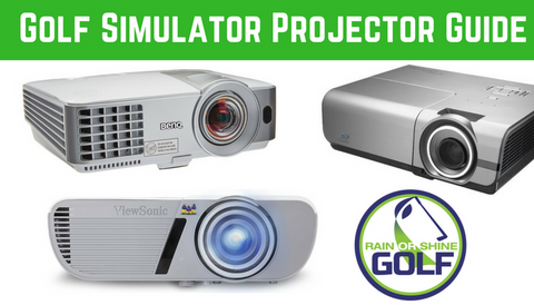 SkyTrak Golf Simulator Projector