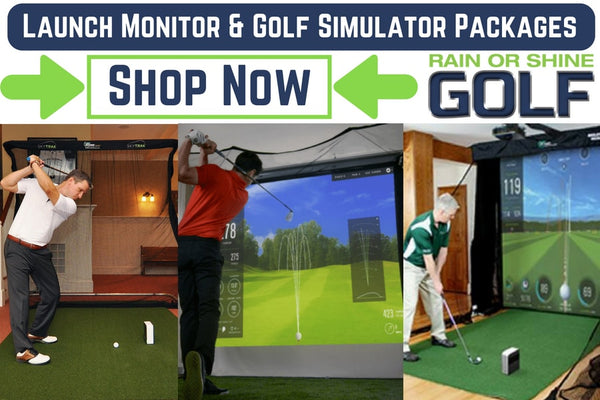 Launch Monitor & Golf Simulator Packages For Sale