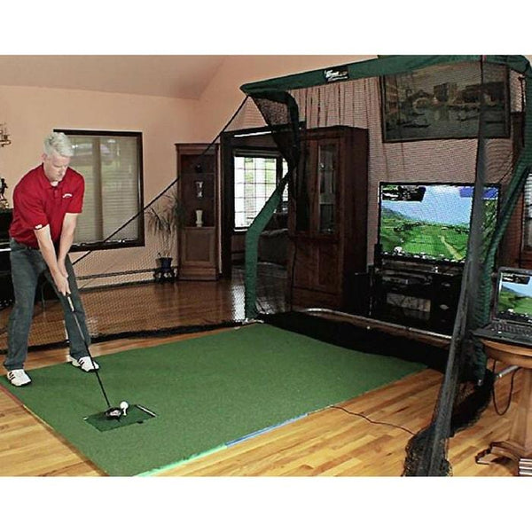 The Net Return Golf Simulator Package with OptiShot