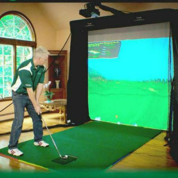 Golf Simulator For Sale - OptiShot Platinum Simulator Series
