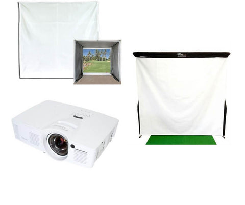 Golf Simulator Projector's and Screens