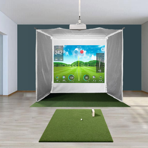 SkyTrak Retractable Golf Simulator