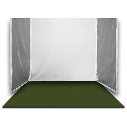 SkyTrak Retractable Golf Simulator Bay Landing Turf