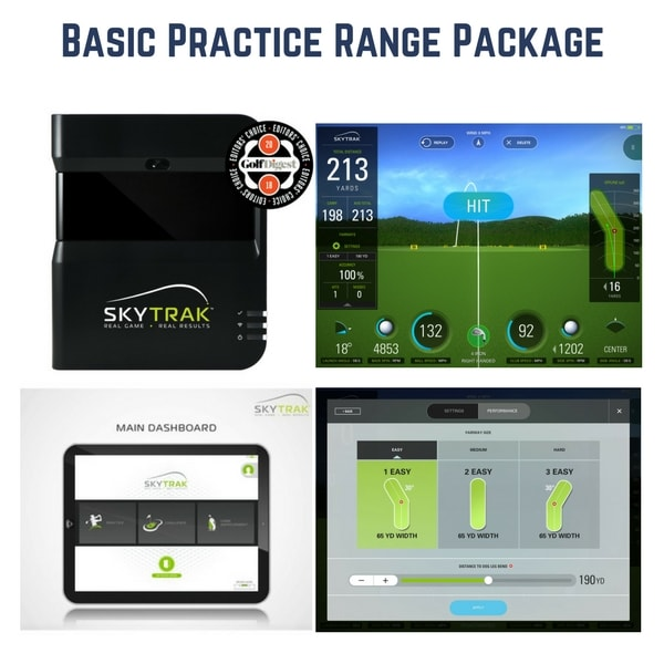 HomeCourse SkyTrak Basic Package