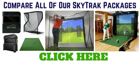 Skytrack Golf Simulator Packages