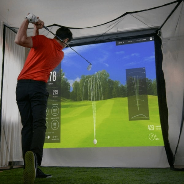 SkyTrak HomeCourse Golf Simulator Studio Package