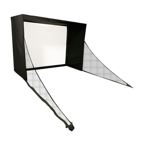 SwingBay Golf Simulator Screen & Enclosure