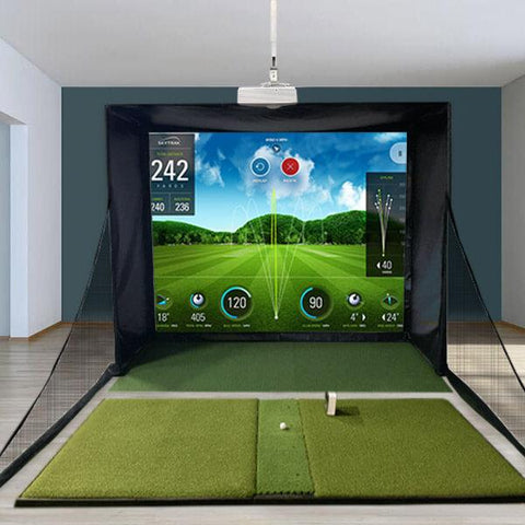 SkyTrak SwingBay Golf Simulator Studio
