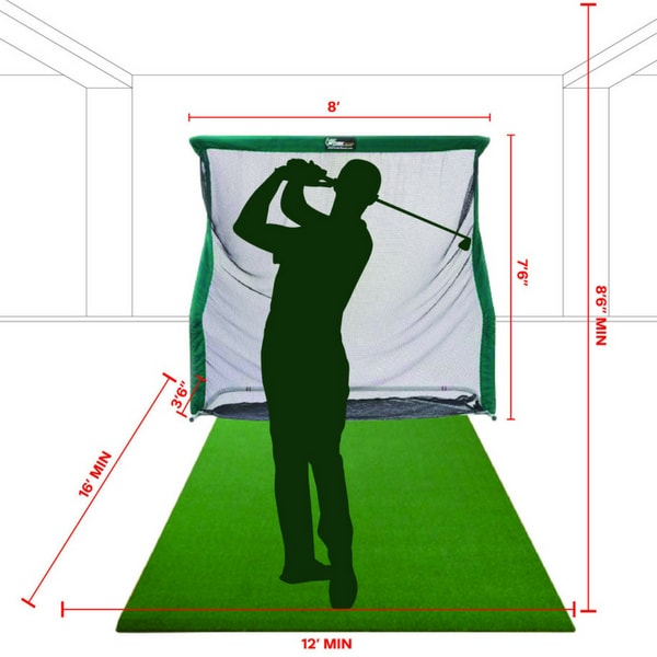The Net Return Pro Series Golf Net & Mat Package Specifications