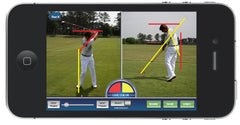 Ernest Sports ES12 Player Golf Launch Monitor App Swinging