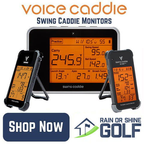 Voice Caddie Swing Caddie Launch Monitors