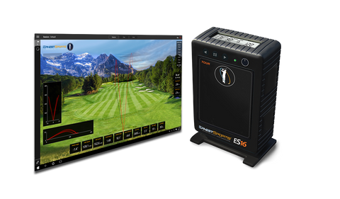 Ernest Sports ES16 Tour Launch Monitor & Golf Simulator Monitor