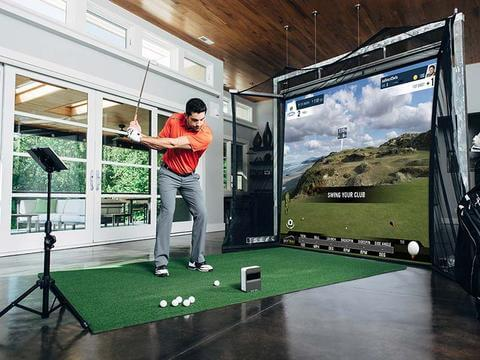 Skytrak Golf Simulator Packages Compare Home Setups For Sale
