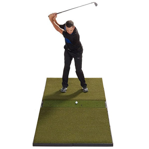 Fiberbuilt Launch Monitor Studio Golf Mat - 4' x 9' Center Hitting