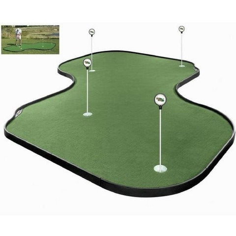 Tour Links 12' x 12' Indoor and Outdoor Putting Green