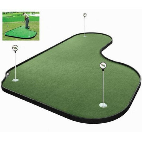 Tour Links 8' x 12' Premium Putting Green - Indoor and Outdoor