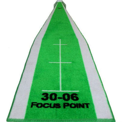 Big Moss Michael Breed Focus Point Portable Putting Green - Rain or Shine Golf