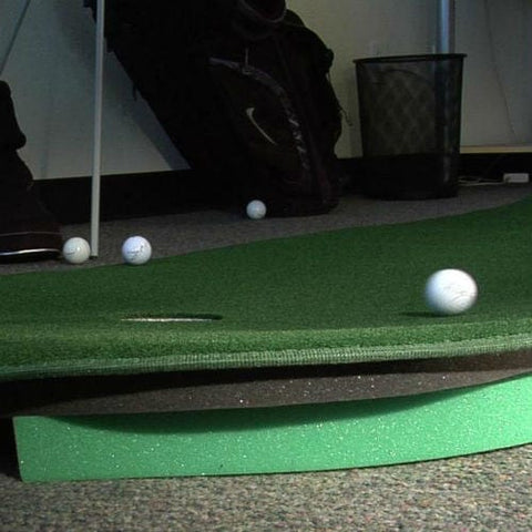 Big Moss The Natural 10 6' x 10' Putting Green with Chipping Mat - Rain or Shine Golf