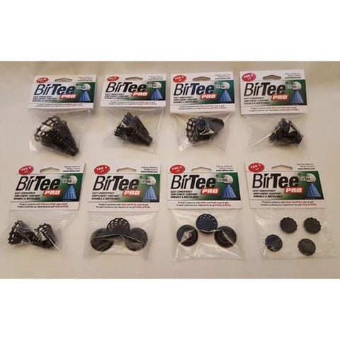 BirTee Pro Golf Simulator Tees - Individual Size Pack