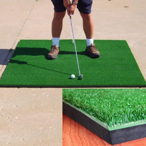 Cimarron Sports 5' x 5' Premium Golf Mat - Rain or Shine Golf