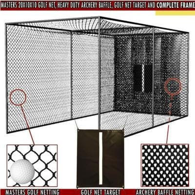 Cimarron Golf Net Enclosure Masters Package