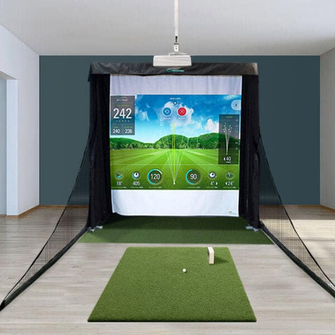 SkyTrak Compact Golf Simulator with Country Club Elite