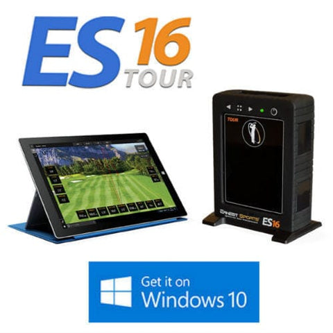 Ernest Sports ES16 Tour Launch Monitor & Golf Simulator - Rain or Shine Golf