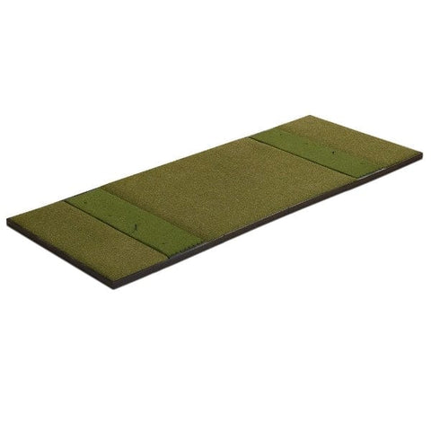 Fiberbuilt Launch Monitor Studio Golf Mat - 4' x 10' Center Stance