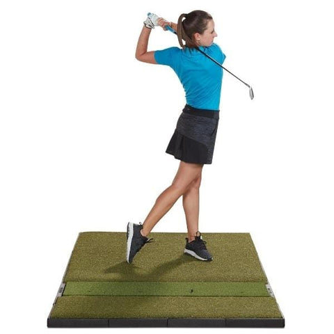 Fiberbuilt Launch Monitor Studio Golf Mat - 4' x 7' Single Sided