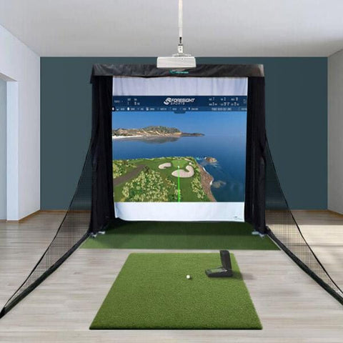 GC2 Compact Golf Simulator Package + FSX Software