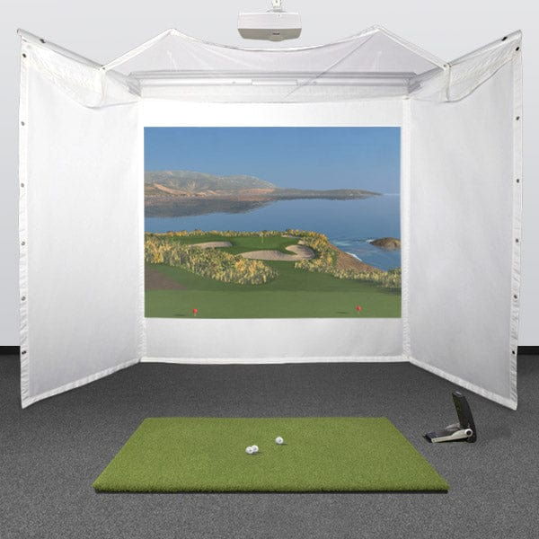 GC2 Retractable Golf Simulator Package + FSX Software
