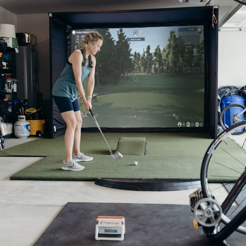 Building a golf simulator with projector