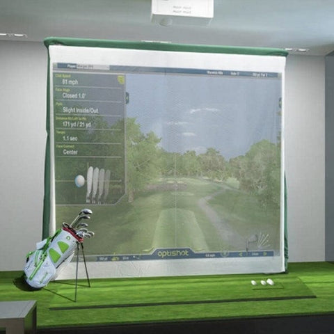 OptiShot Golf In A Box 3 Simulator Package