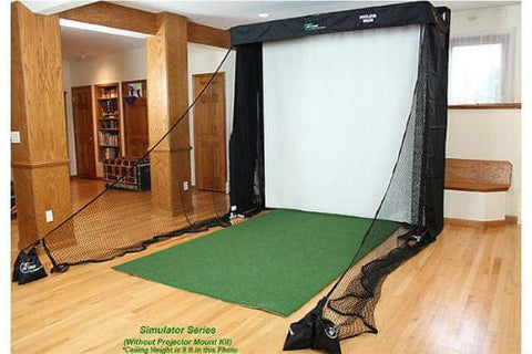OptiShot 2 Platinum Golf Simulator Studio - Rain or Shine Golf