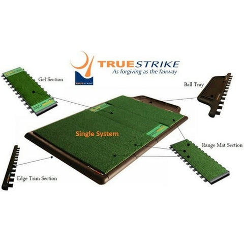 TrueStrike Gel Golf Mat Section