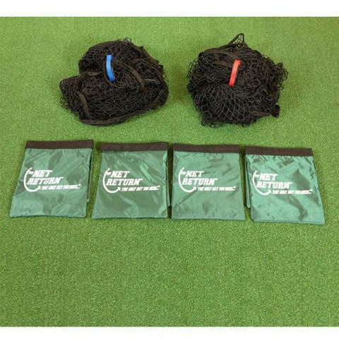 net return mini pro golf practice netting and sandbags