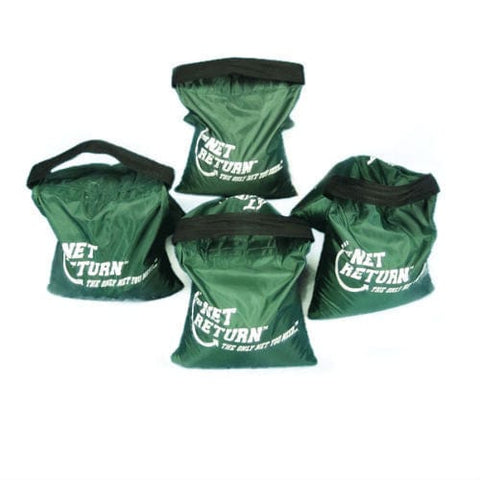 net return mini pro golf practice netting 4 sandbags