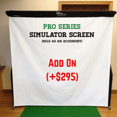 net return pro golf simulator screen add on 295