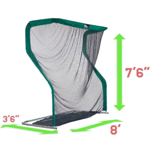 The Net Return Pro Series Golf Net & Mat Package