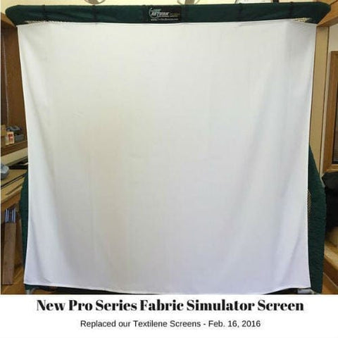 net return pro golf simulator screen new fabric