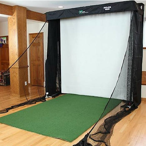 The Net Return Simulator Series Projector Screen & Netting