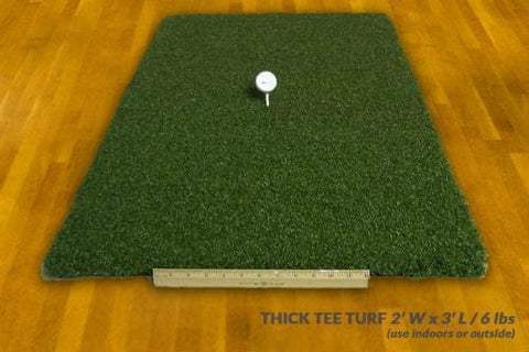 The Net Return Thick Tee Turf Golf Mat