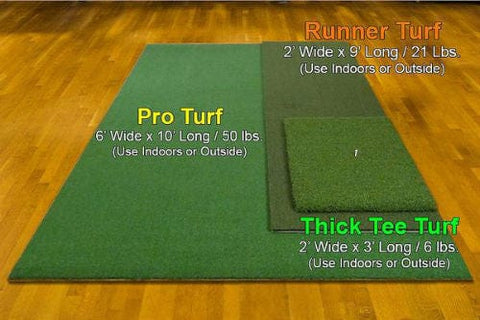 The Net Return Thick Tee Turf Golf Mat - Rain or Shine Golf