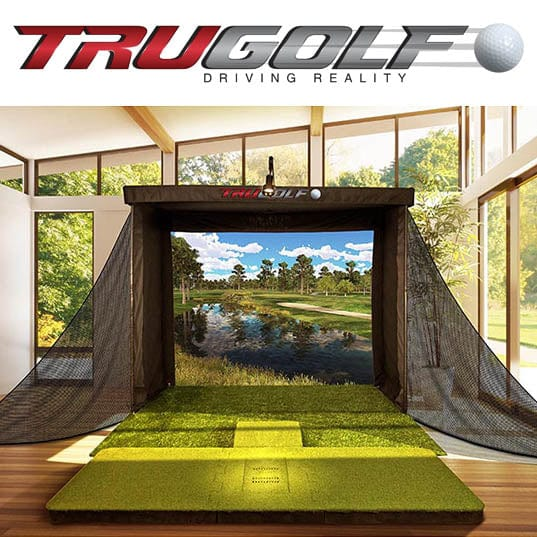 TruGolf Vista 10 Golf Simulator w/ E6Golf Connect
