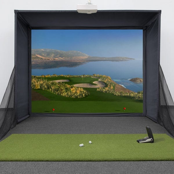 GC2 SwingBay Golf Simulator Package + FSX